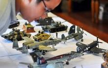 Dàn mô hình xe tăng, tàu chiến khủng hội tụ tại Hà Nội