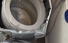 Sau Note 7 đến máy giặt Samsung phát nổ