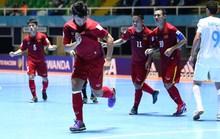 Futsal Việt Nam muốn soán ngôi Thái Lan tại Đông Nam Á