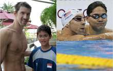 Bức ảnh động lực để Schooling hạ Phelps