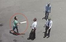 Cãi nhau vì 4.000 đồng, bà trùm cùng đàn em vác dao truy sát