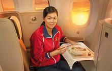 Kình ngư Ánh Viên làm Đại sứ thương hiệu cho Vietnam Airlines