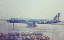 Sân bay Nội Bài hoạt động trở lại dù bão số 1 chưa qua