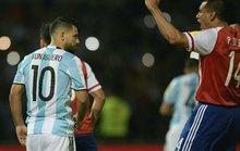 Aguero dự bị trận Argentina làm khách Brazil