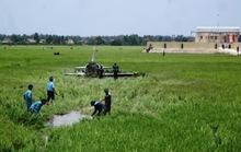 Vụ rơi máy bay ở Phú Yên: Do hỏng động cơ