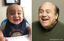 Đốn tim với những em bé là bản sao nhân vật nổi tiếng