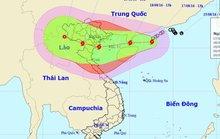 Áp thấp mạnh lên thành bão giật cấp 14 vào Vịnh Bắc Bộ