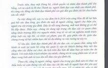Bí thư Đà Nẵng gửi thư cho gia đình nạn nhân vụ chìm tàu