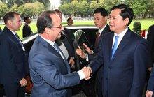 Việt - Pháp ưu tiên hợp tác kinh tế