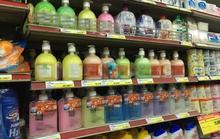 Tràn lan xà phòng có hóa chất nguy hiểm
