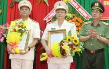 Ba lãnh đạo Công an Sóc Trăng nhận nhiệm vụ mới