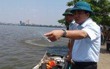 Chủ tịch Hà Nội trực chiến xử lý vụ cá chết trắng Hồ Tây