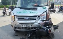 Va chạm xe Phương Trang, 1 thanh niên vào cấp cứu rạng sáng