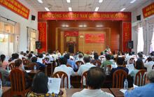 Ông Thái Tuấn Chí tiếp xúc cử tri quận 12