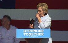 Bà Clinton dị ứng mỗi khi nghĩ về ông Trump
