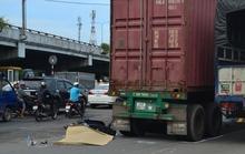 Xe container cán chết cô gái ở vòng xoay tử thần