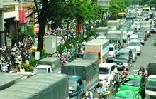Lại kẹt xe nhiều giờ ở cửa ngõ sân bay Tân Sơn Nhất