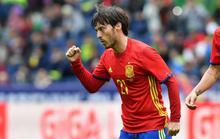 """Silva lập siêu phẩm, Tây Ban Nha """"chơi tennis"""" với Hàn Quốc"""