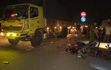 Tan chầu nhậu, 2 thanh niên tông vào xe tải tử vong
