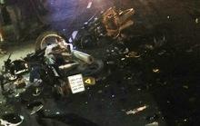2 xe máy tông nhau, 5 người thương vong
