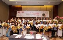 Lotte Mart trao học bổng cho 48 sinh viên