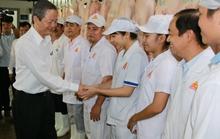 Lãnh đạo TP HCM thăm, chúc Tết cán bộ, công nhân viên Công ty Vissan