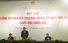 Giải thích nguyên nhân kiện toàn nhân sự Nhà nước trong kỳ họp QH thứ 11