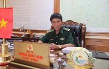Chỉ huy trưởng BĐBP: Nói người bên Lào sang phá rừng pơ mu là chủ quan