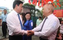 TP HCM: Bí thư Đinh La Thăng đi bầu cử từ sáng sớm