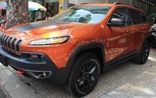 Đại gia Duy Lợi sắm thêm xe khủng Jeep Cherokee Trailhawk