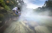 Dòng sông luộc chín mọi thứ trong rừng rậm Amazon