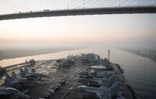 Tàu Trung Quốc lởn vởn gần tàu sân bay Mỹ ở biển Đông