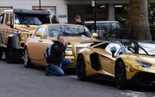 Biệt đội siêu xe mạ vàng gây xôn xao London