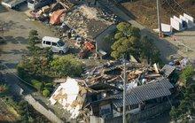 Cả ngàn người thương vong trong trận động đất mạnh ở Nhật Bản