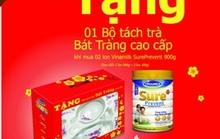 Mua Sure Prevent tặng bộ tách trà Bát Tràng