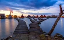 Ngôi làng cà kheo thiên đường mới đẹp hơn cả Maldives