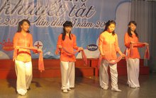 Ngày hội cho tuổi thơ khuyết tật tại Cung Văn hóa Lao động TP HCM