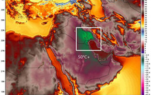 Kuwait nóng kỷ lục 54 độ C