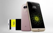 LG G5: Vỏ kim loại, camera kép, mở rộng phần cứng