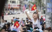 Người dân TP HCM nồng nhiệt chào đón Tổng thống Obama