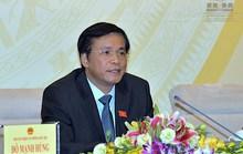 Quốc hội phối hợp với Chính phủ xử lý kỷ luật ông Vũ Huy Hoàng