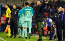 Dưỡng quân cho El Clasico, Barcelona suýt ôm hận trước Hercules