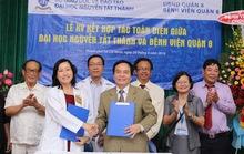 Trường ĐH Nguyễn Tất Thành hợp tác toàn diện với Bệnh viện quận 8