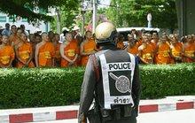 Thái Lan tung máy bay không người lái truy bắt trụ trì nhúng chàm