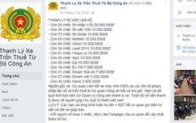 Mạo danh Bộ Công an lập trang mạng lừa bán xe thanh lý