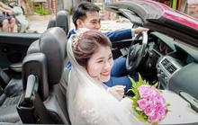 Choáng với màn rước dâu bằng dàn ôtô gần 100 chiếc