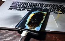 Galaxy Note 7 bán tại Trung Quốc vẫn phát nổ