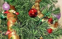 Trang trí cây Giáng sinh, tá hỏa phát hiện rắn cực độc