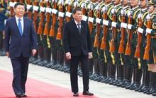 Chủ tịch Trung Quốc vồn vã với Philippines