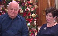 Cụ ông cụ bà kết hôn sau 41 năm hẹn hò